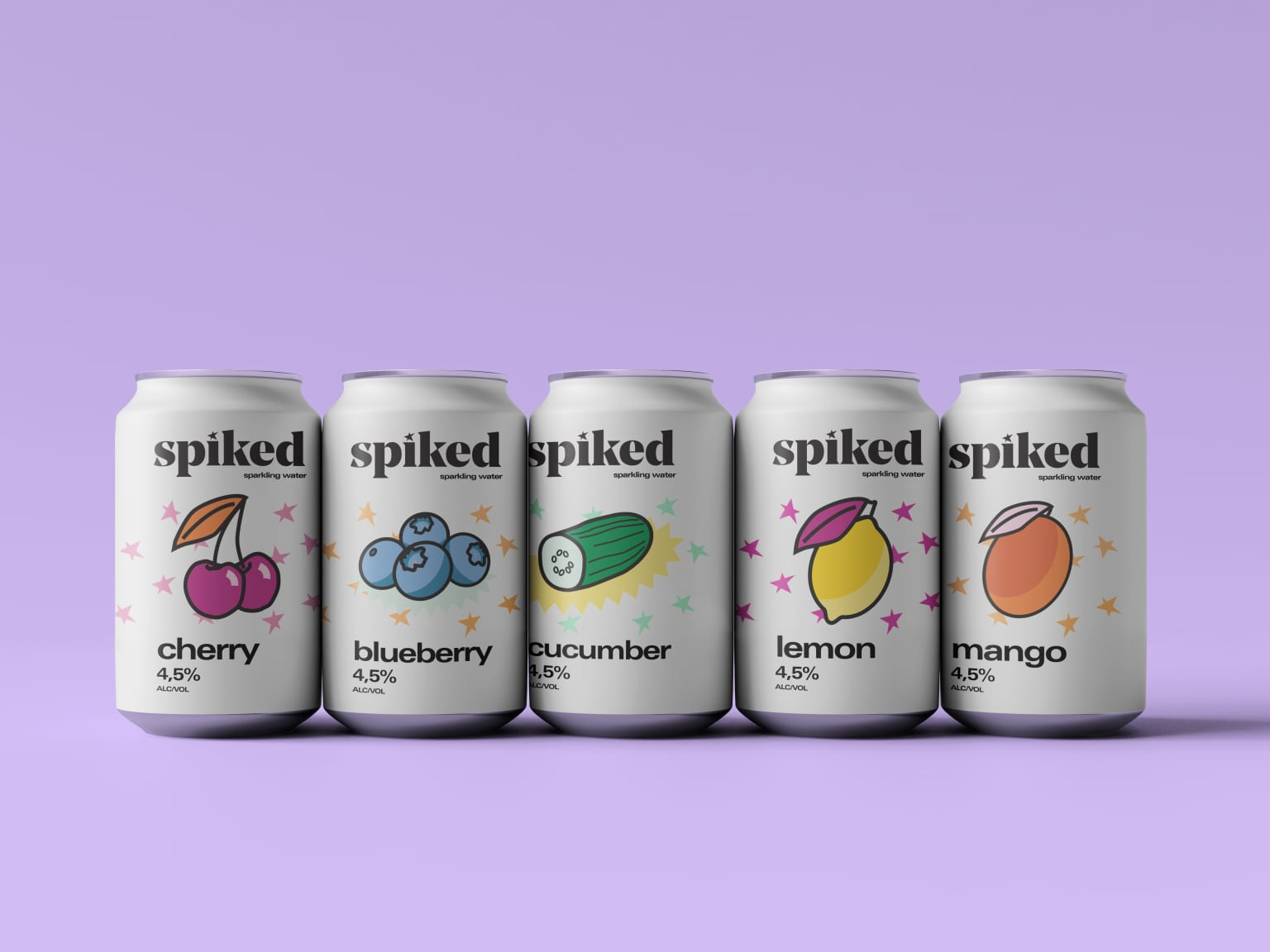 Branding and Packaging Design for Spiked