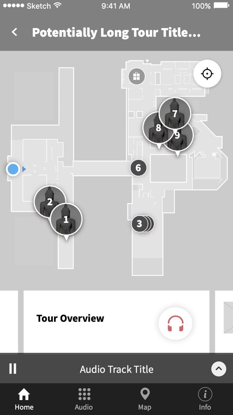 Art Institute of Chicago iOS App Redesign