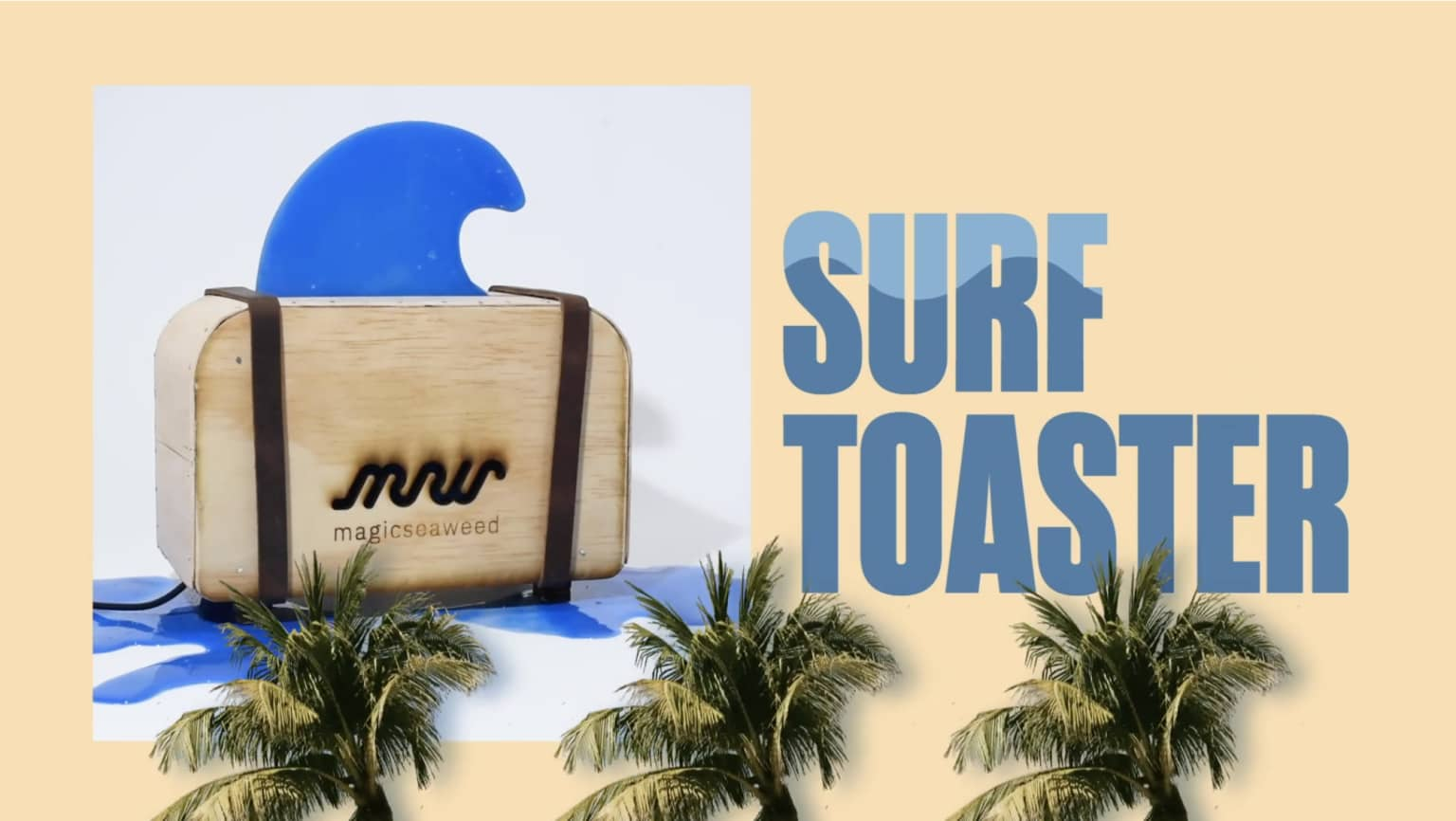 Magic seaweed surf toaster