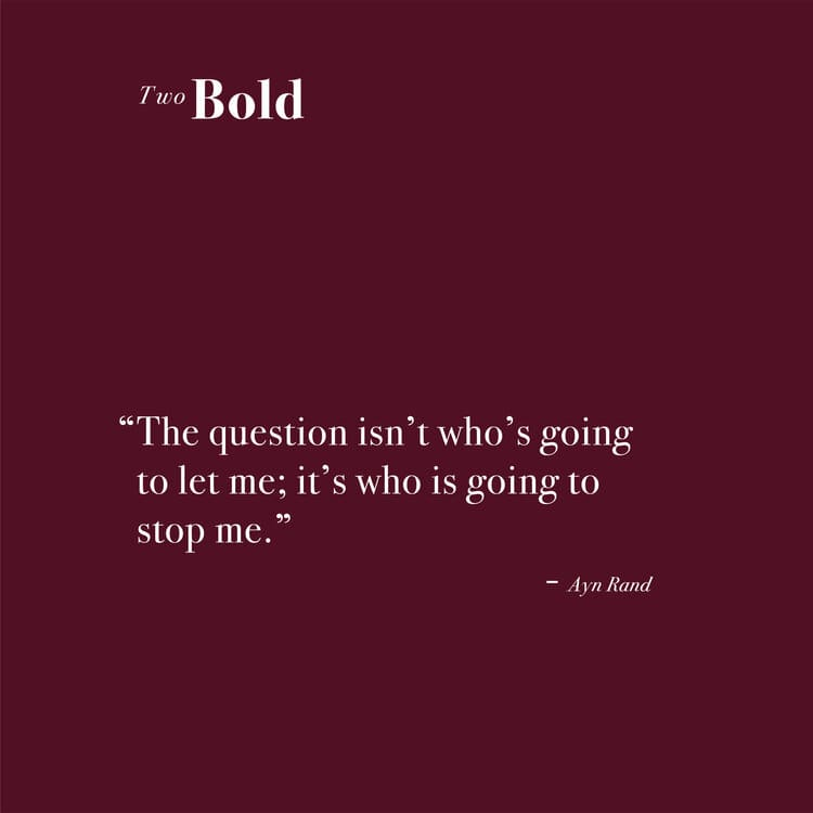Two Bold