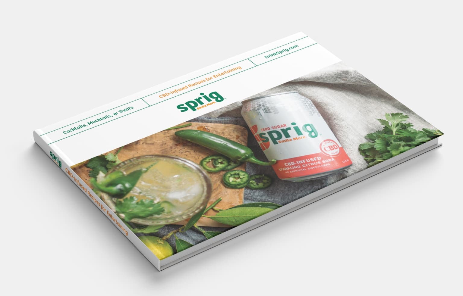 Sprig Soda CBD Cocktail Book