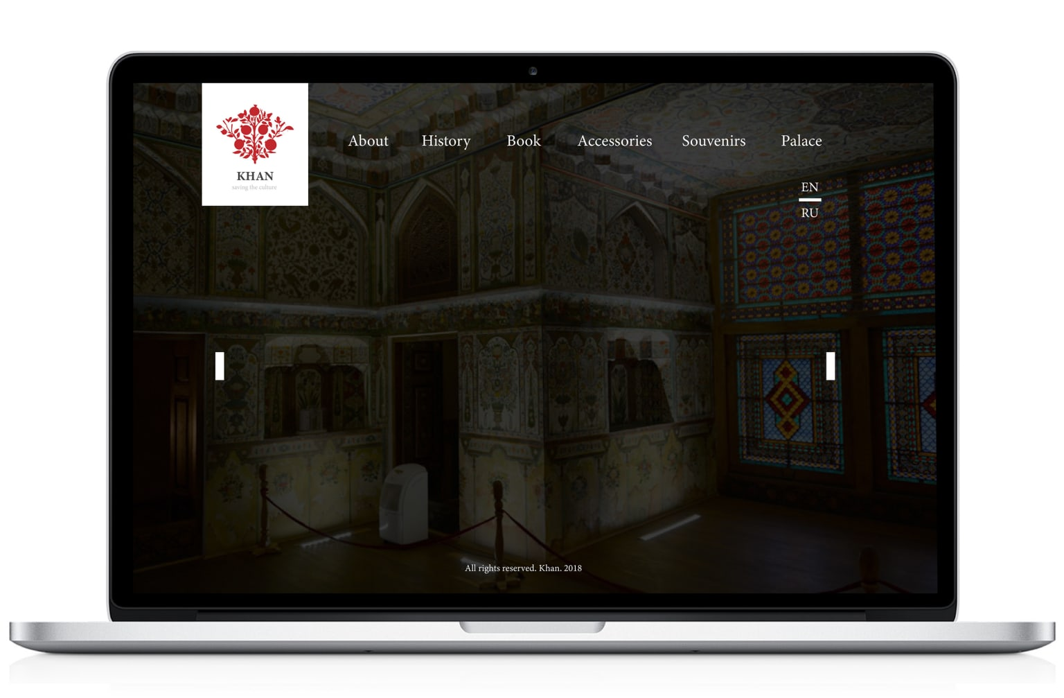 Branding and web design for the cultural place