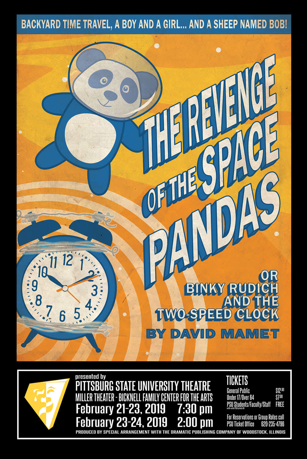 Theatre Poster - Revenge of the Space Pandas