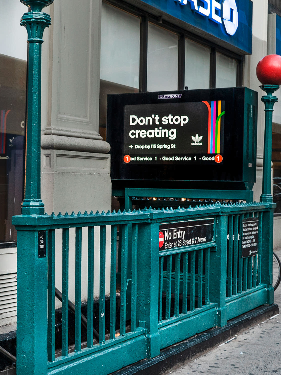Sports (NIKE projects, adidas NYC OOH)