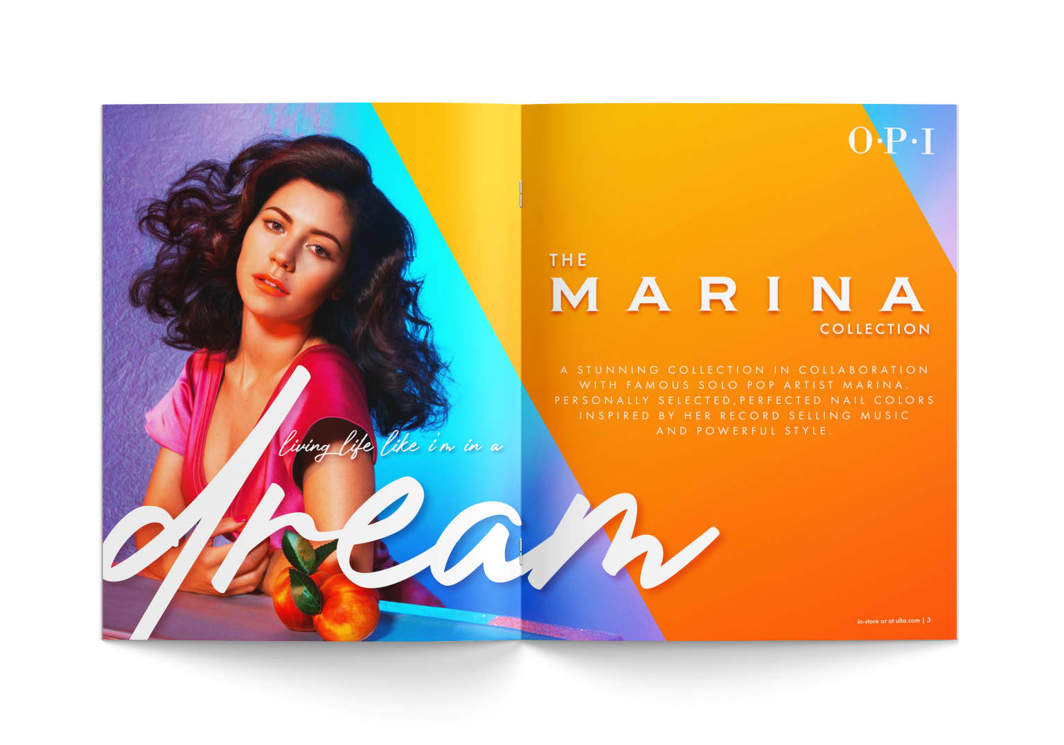 THE MARINA COLLECTION by OPI