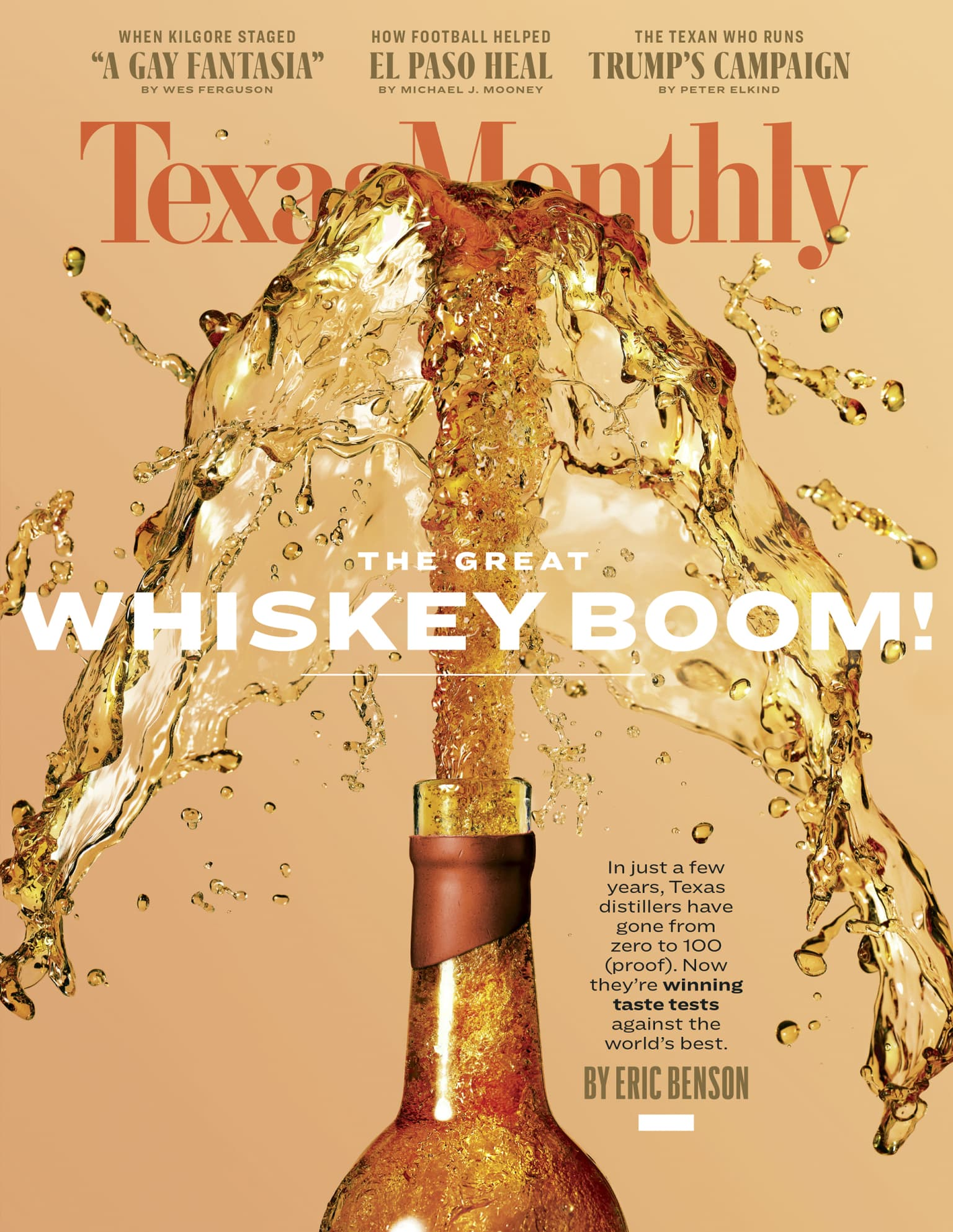Cover for Texas Monthly