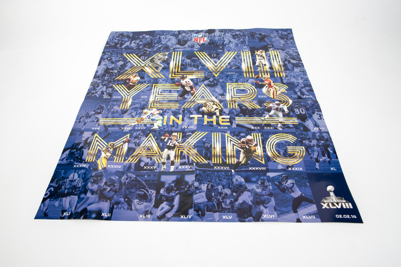 XLVIII Custom Typography