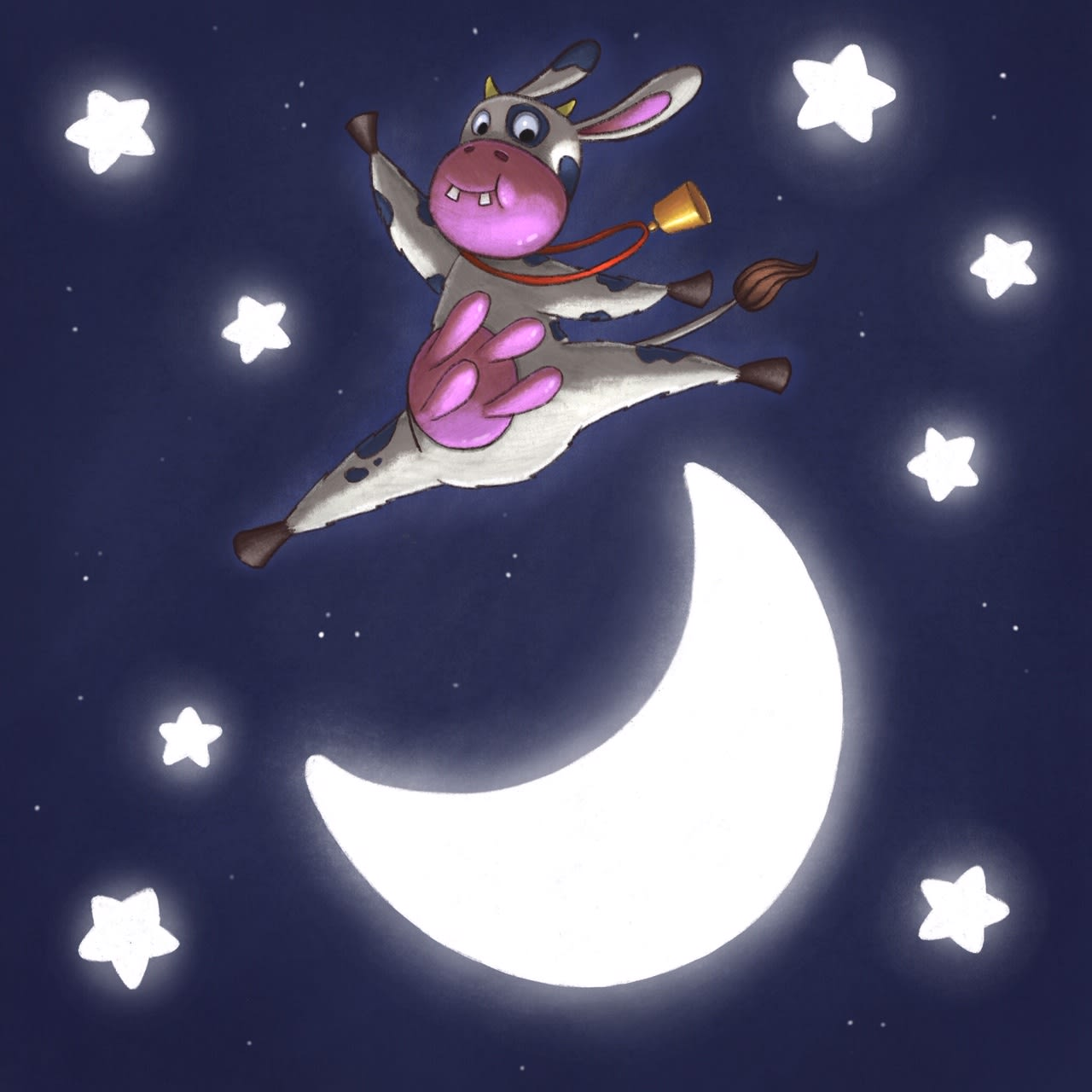 The Cow Jumped Over The Moon!