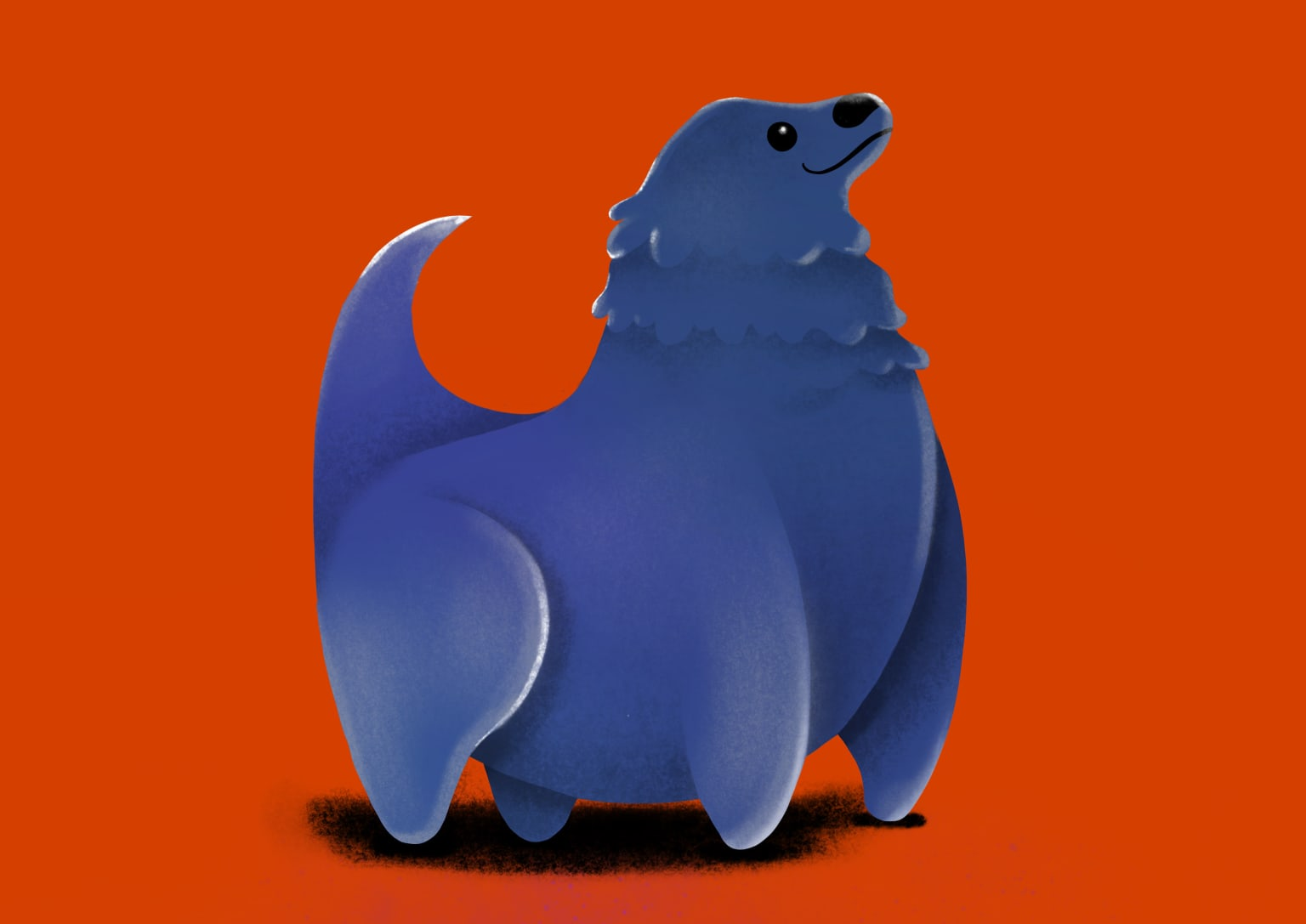 Illustrations of Overweight Animals