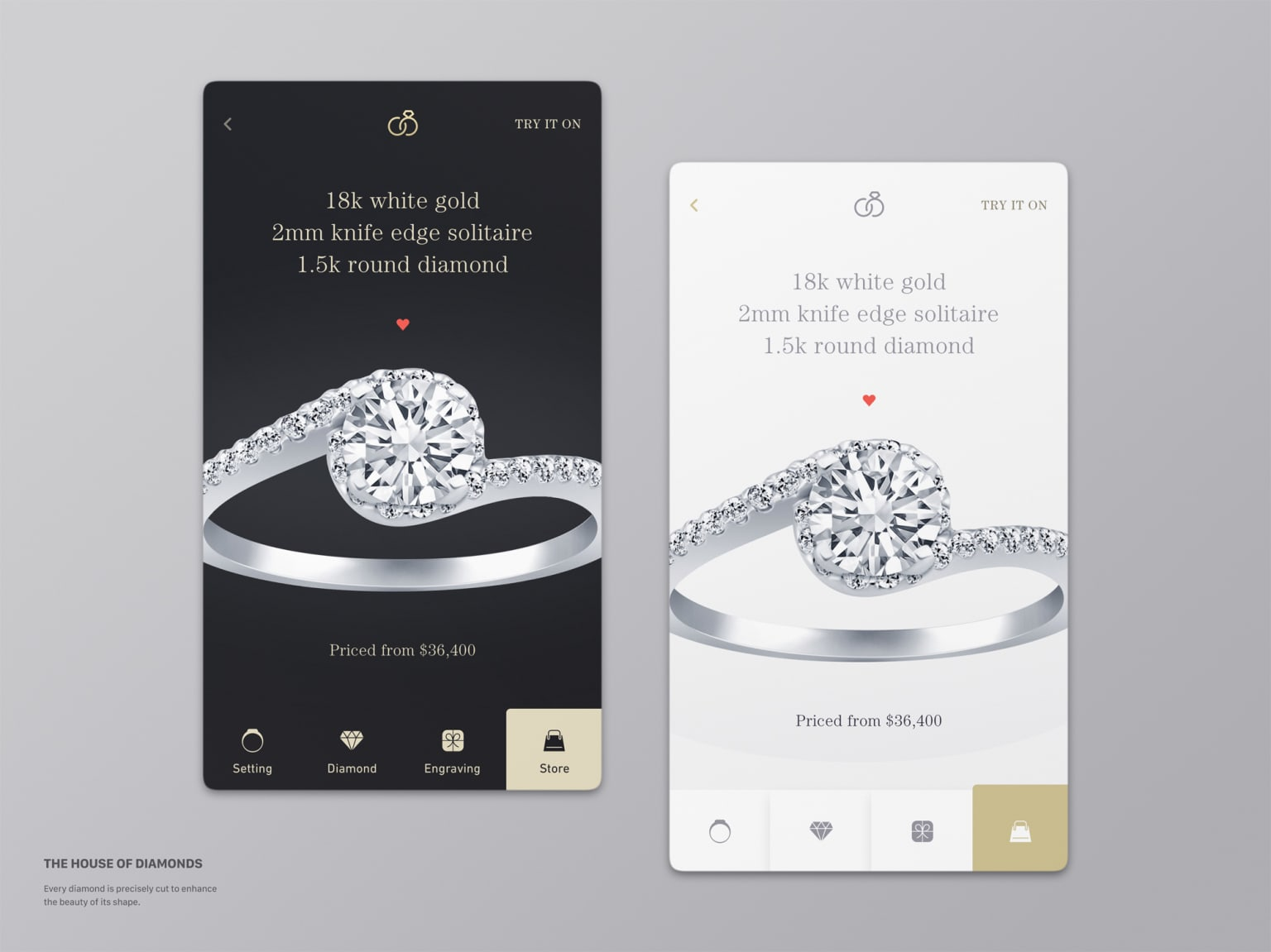 Engagement Rings App