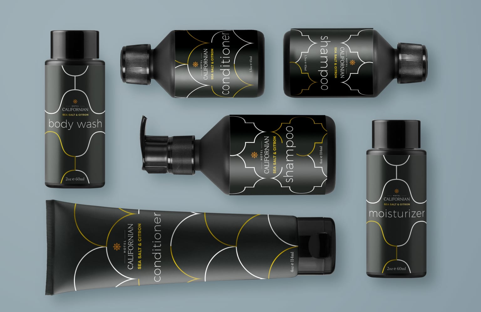Hotel Californian | PACKAGE DESIGN