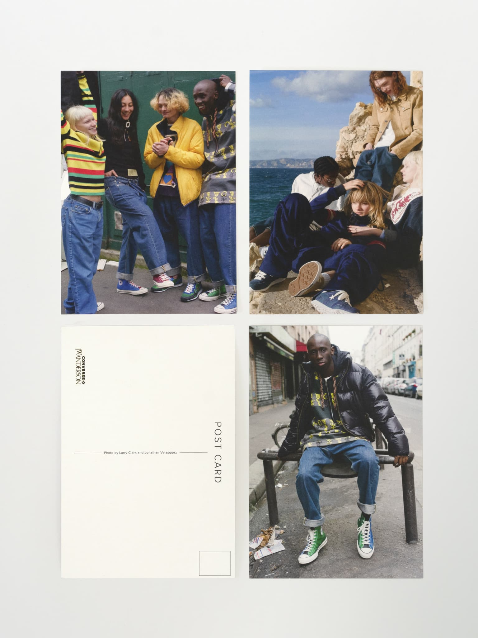 Converse x JW Anderson: Post Cards