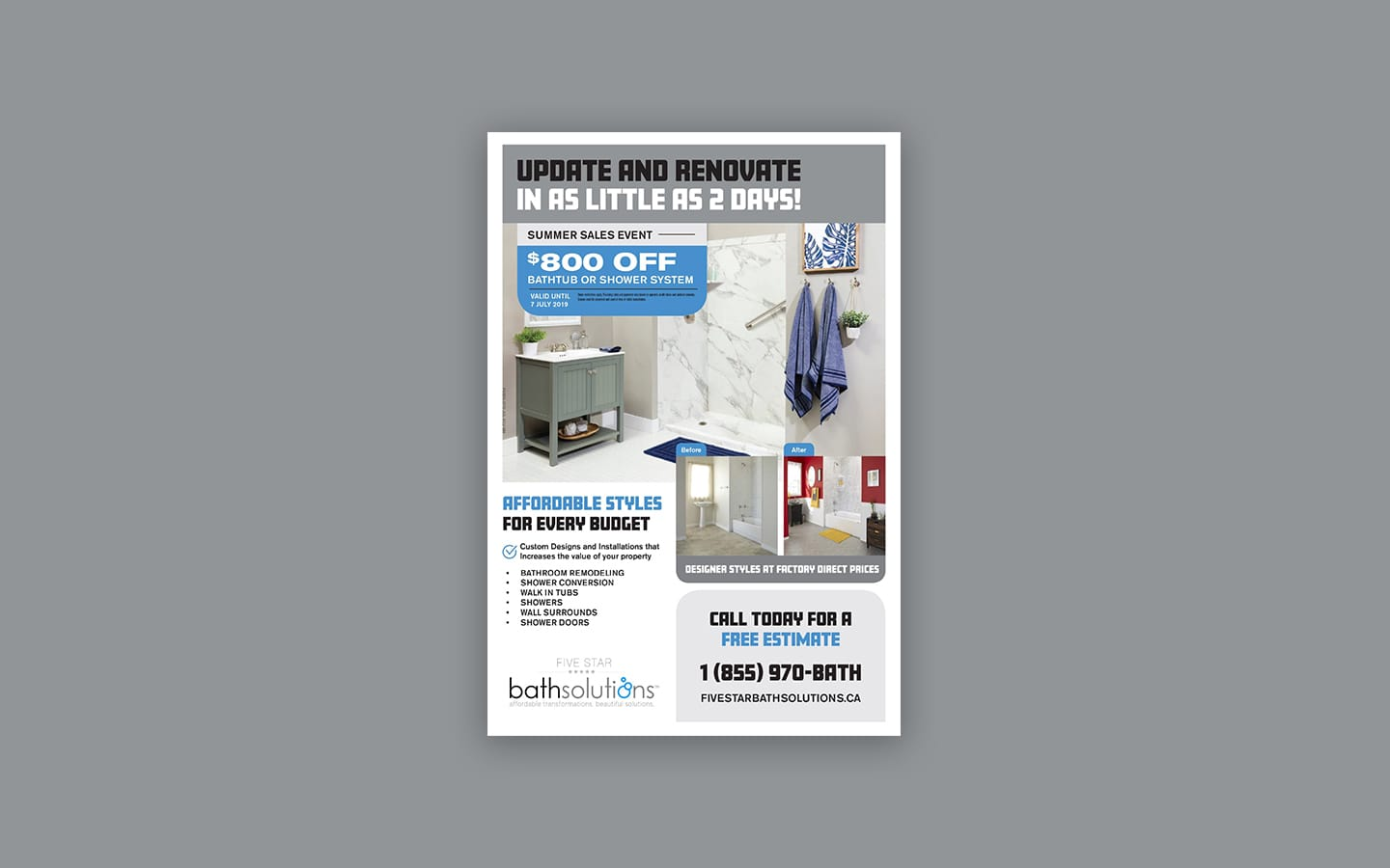 Direct-mail Advertising Flyers