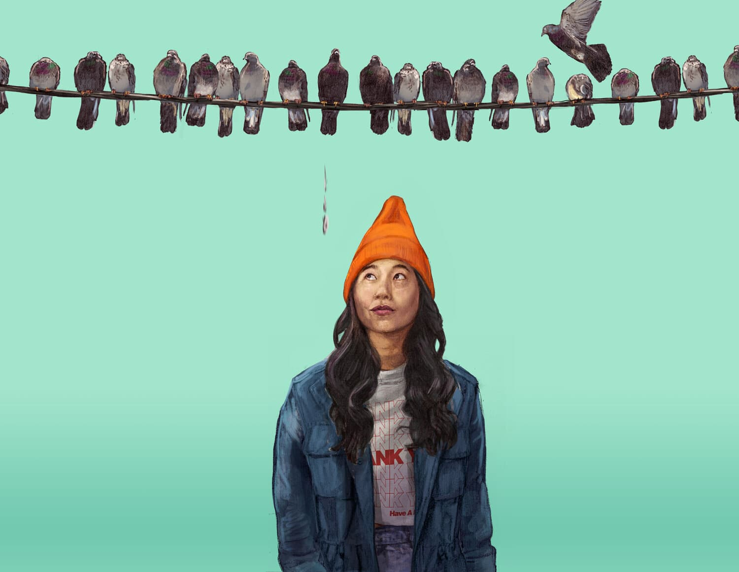 AWKWAFINA IS NORA FROM QUEENS S1