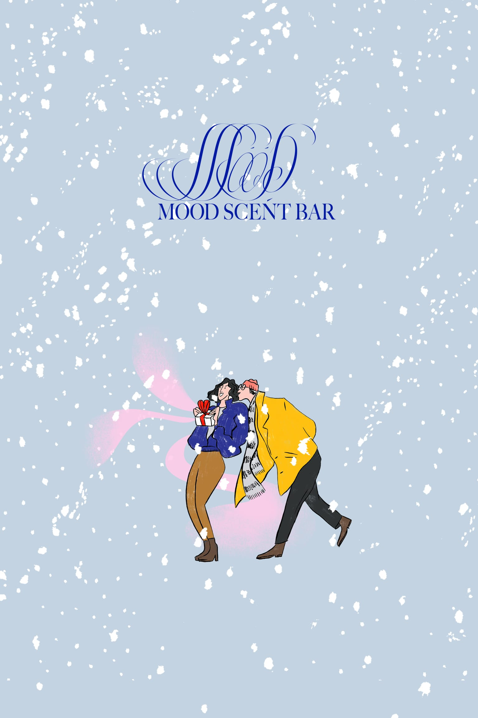 Mood Scent Bar Christmass Illustration