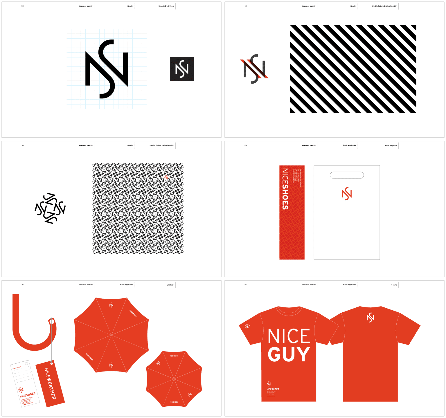 Nise Shoes Branding