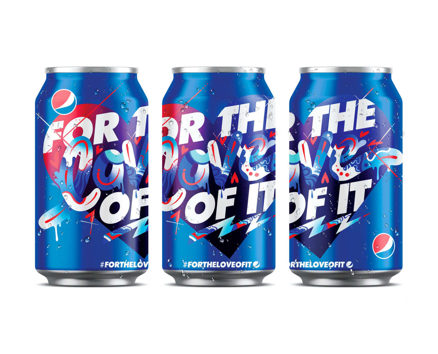 PEPSI 'FOR THE LOVE OF IT'