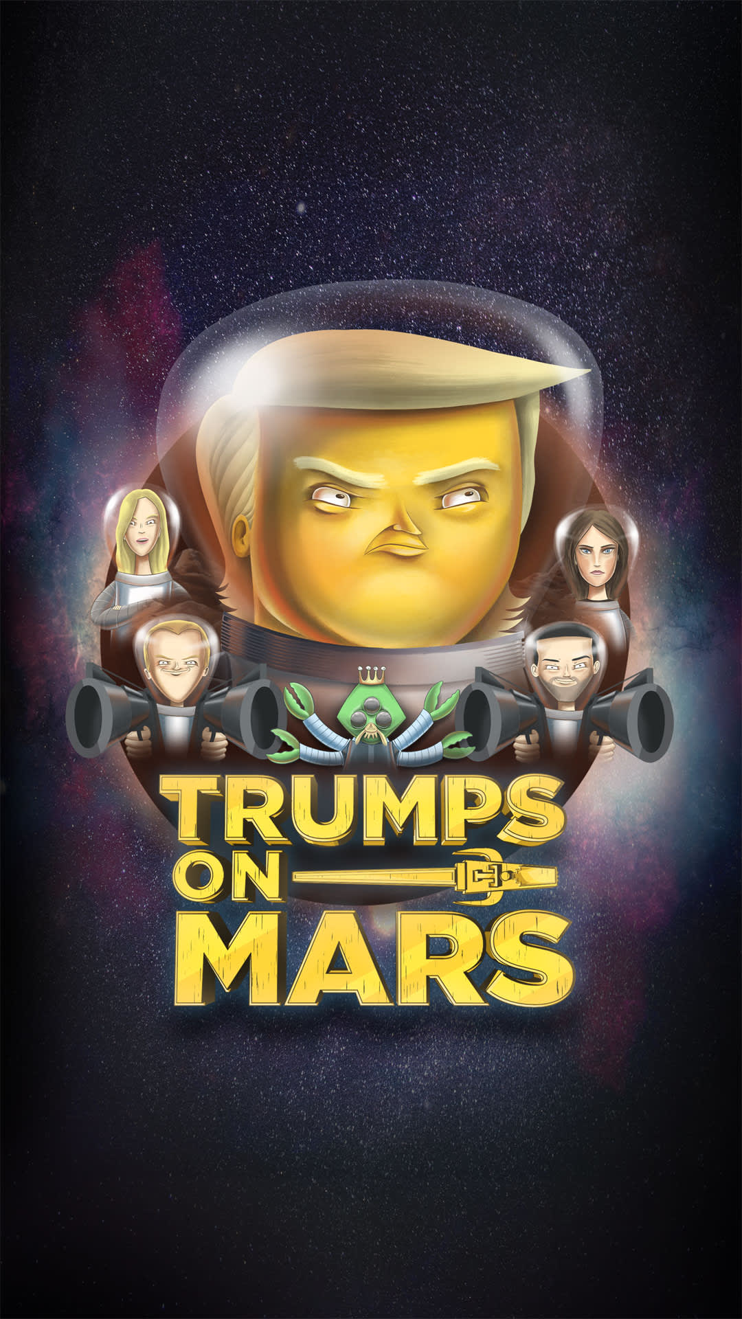 Late Night Storytime: Trumps On Mars