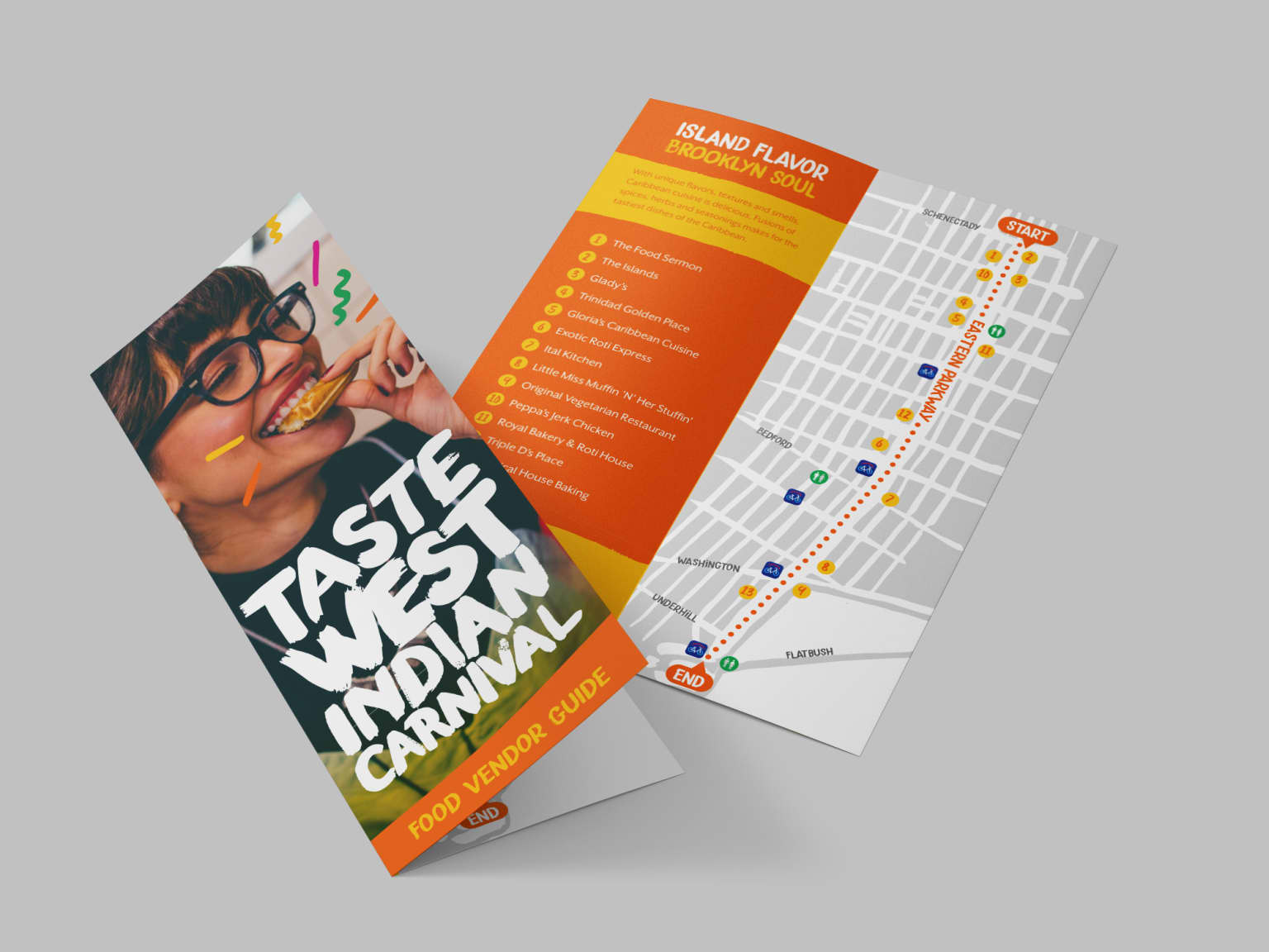 West Indian Carnival Visual Identity