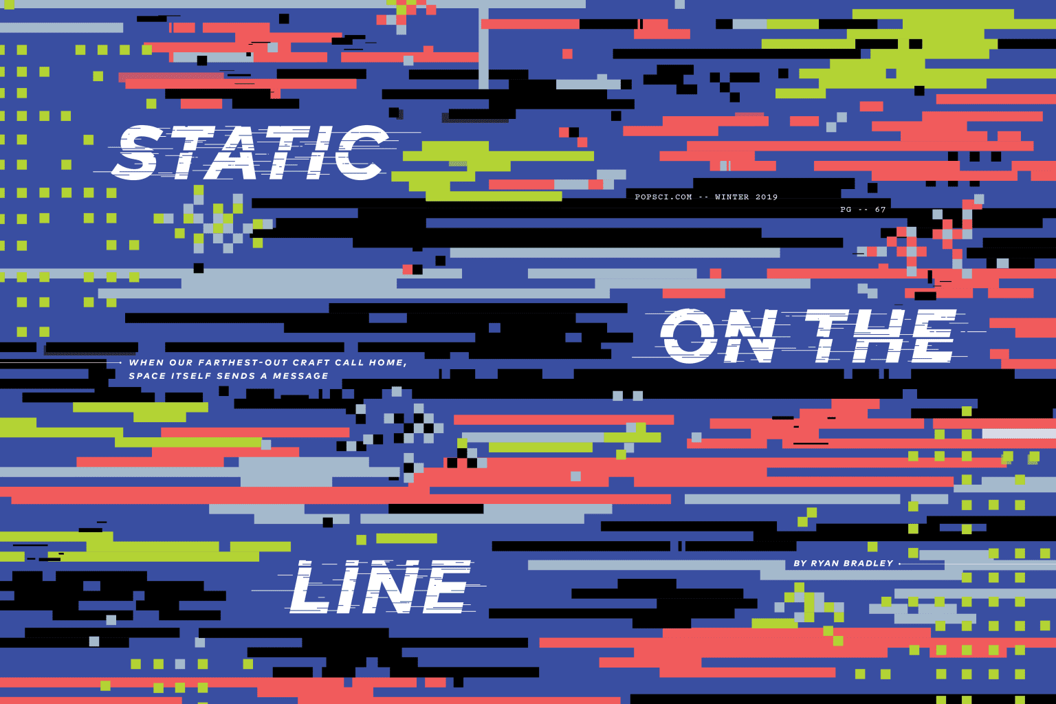 """Static On The Line"""