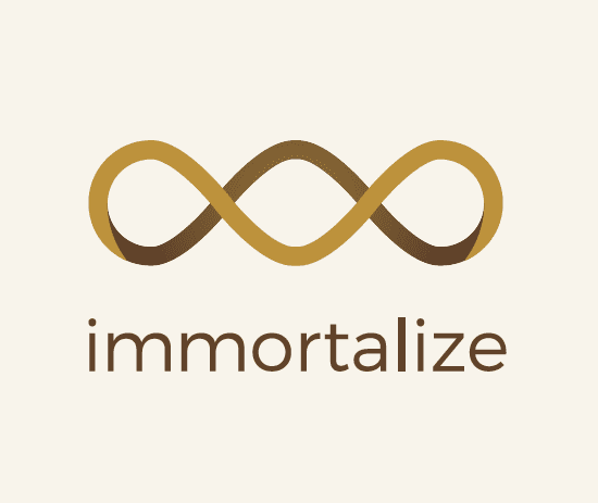 Immortalize. Every life story deserves to be told