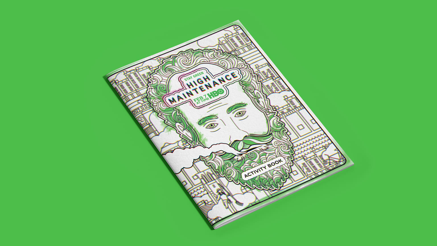 High Maintenance Coloring Book