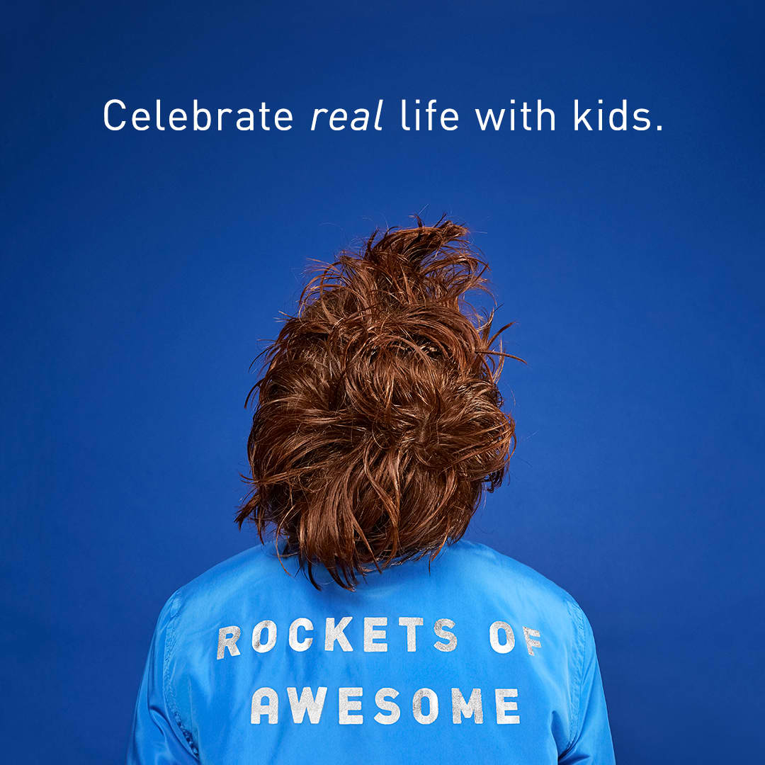 Rockets of Awesome's Real Life with Kids Campaign