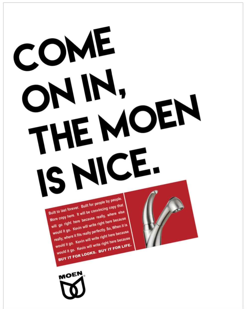 When you think water, you think Moen.