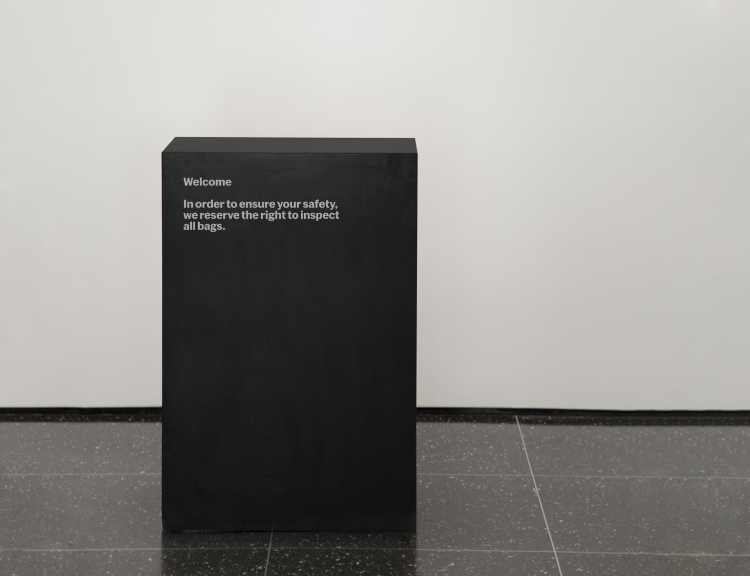 MoMA: Temporary Signage System