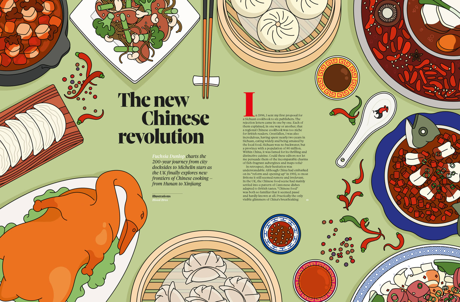 Observer Food Mag: Chinese Revolution