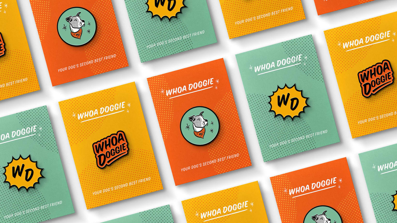Brand Identity for Whoa Doggie