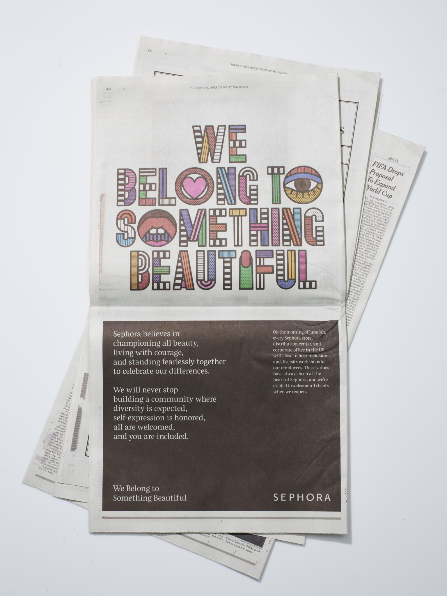 "2019 Sephora ""We Belong"" Brand Anthem Campaign"