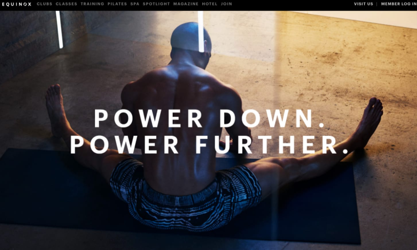Equinox: Power Down. Power Further.