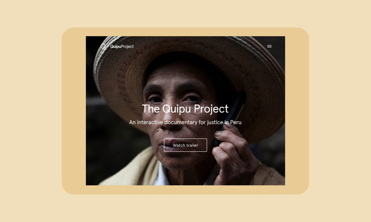 The Quipu project