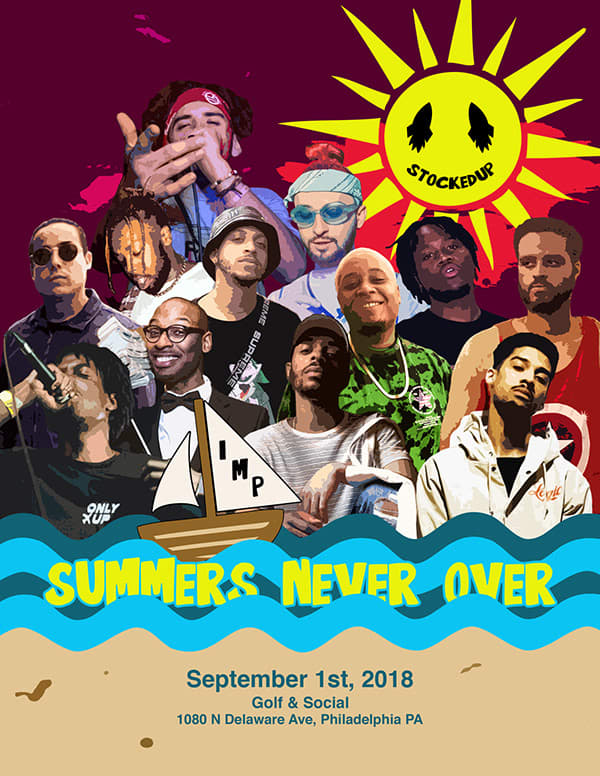 Summers Never Over Flyer