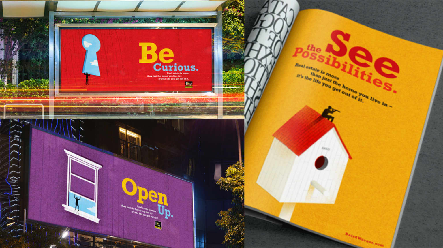 Baird & Warner 'Be Curious' Advertising Campaign
