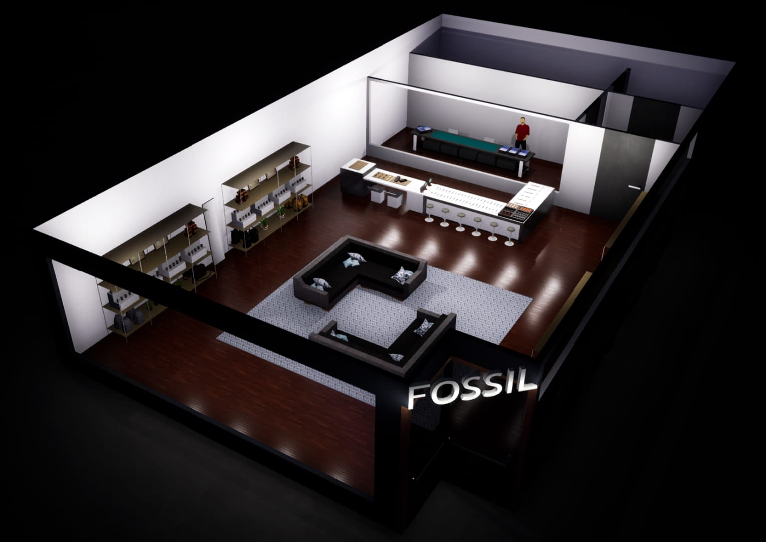 FOSSIL Store Redesign