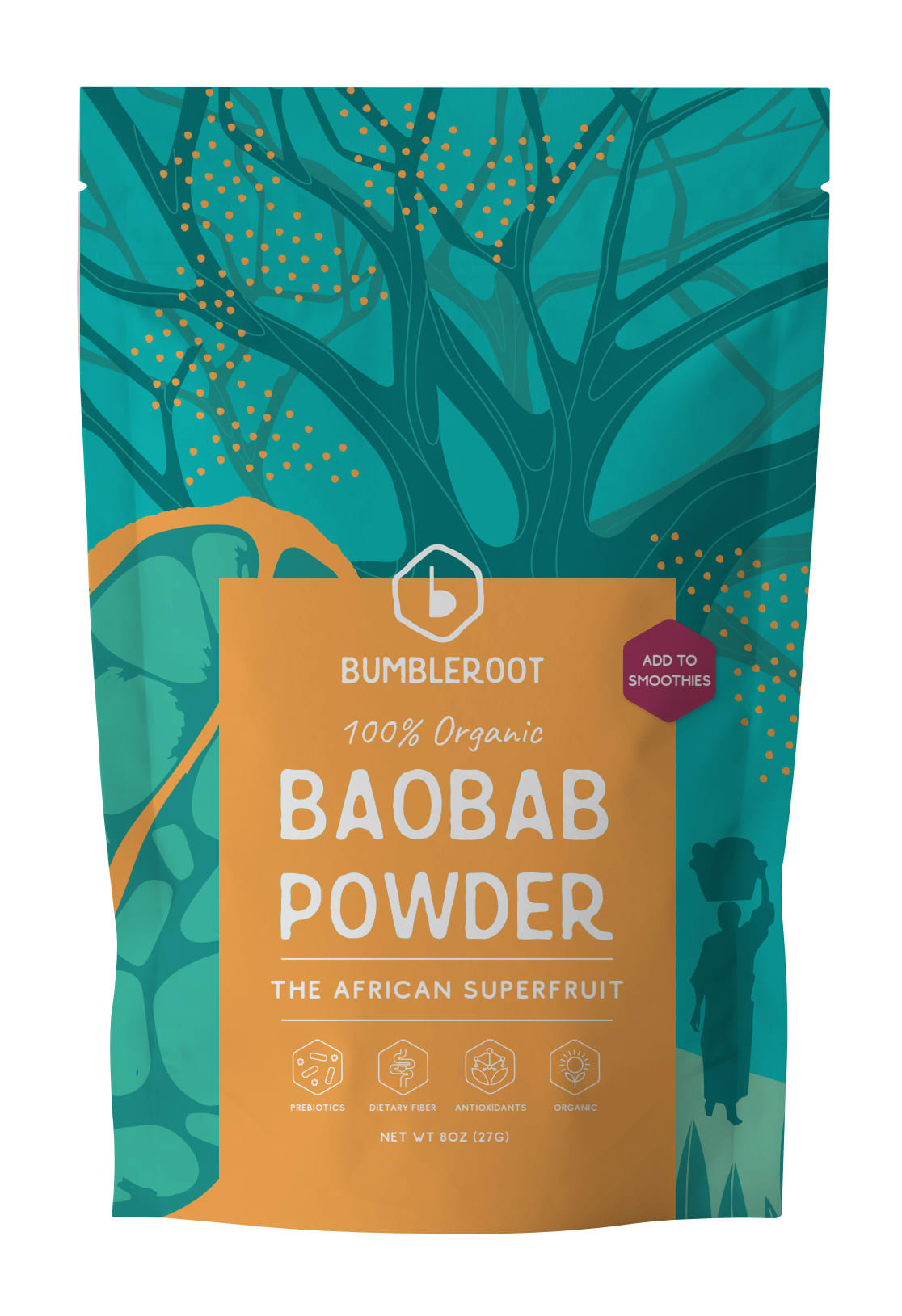 Baobob Powder Retail Packaging