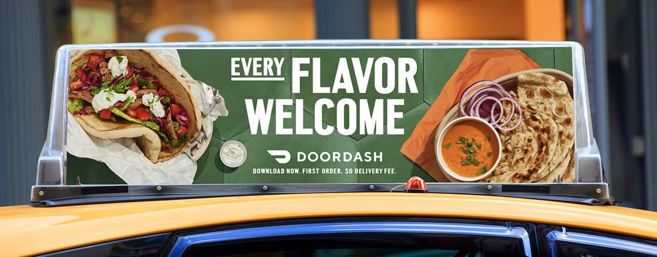 Door Dash - Every Flavor Welcome