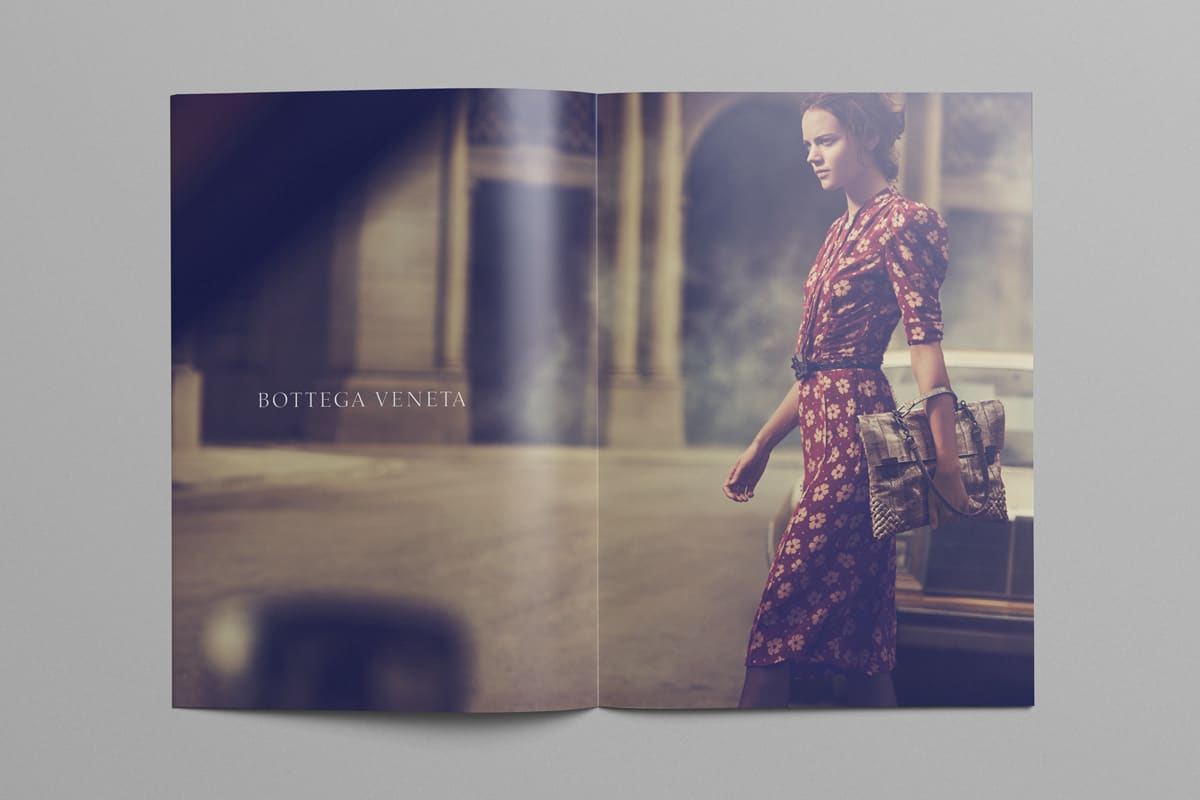 Bottega Veneta Advertising