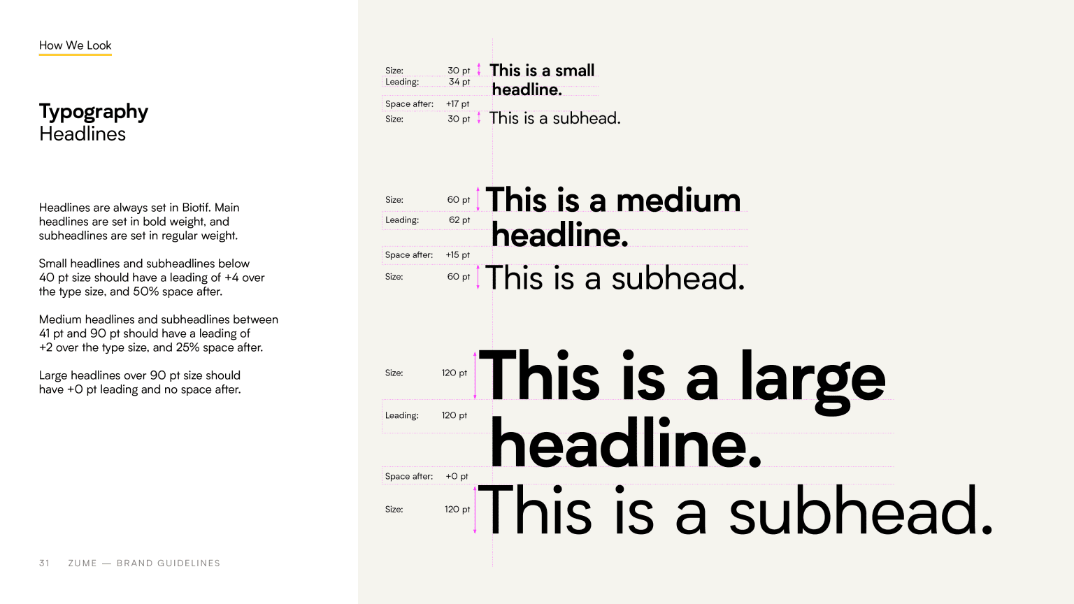 Zume Brand Guidelines