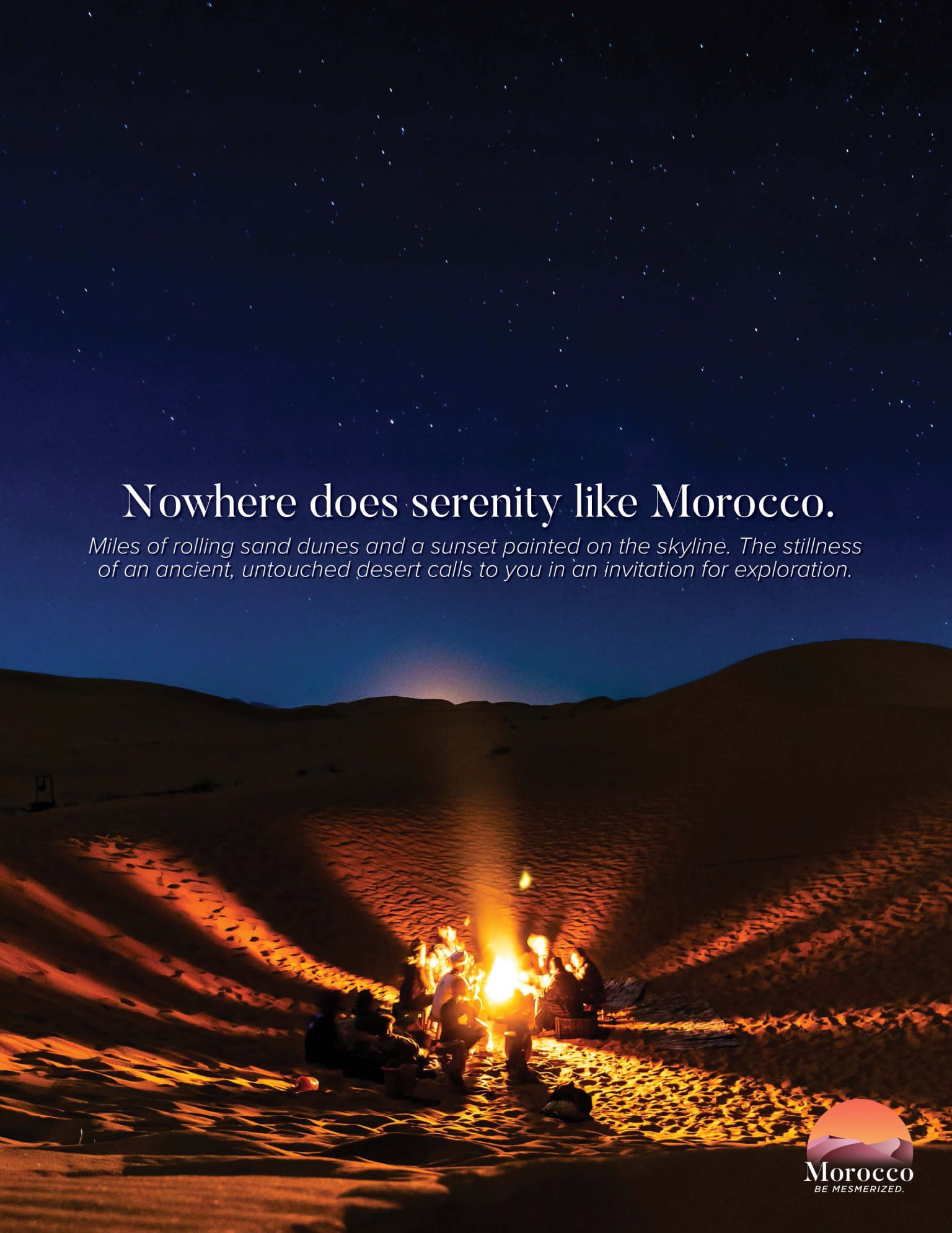 """""""Be Mesmerized"""" for Morocco Tourism"""