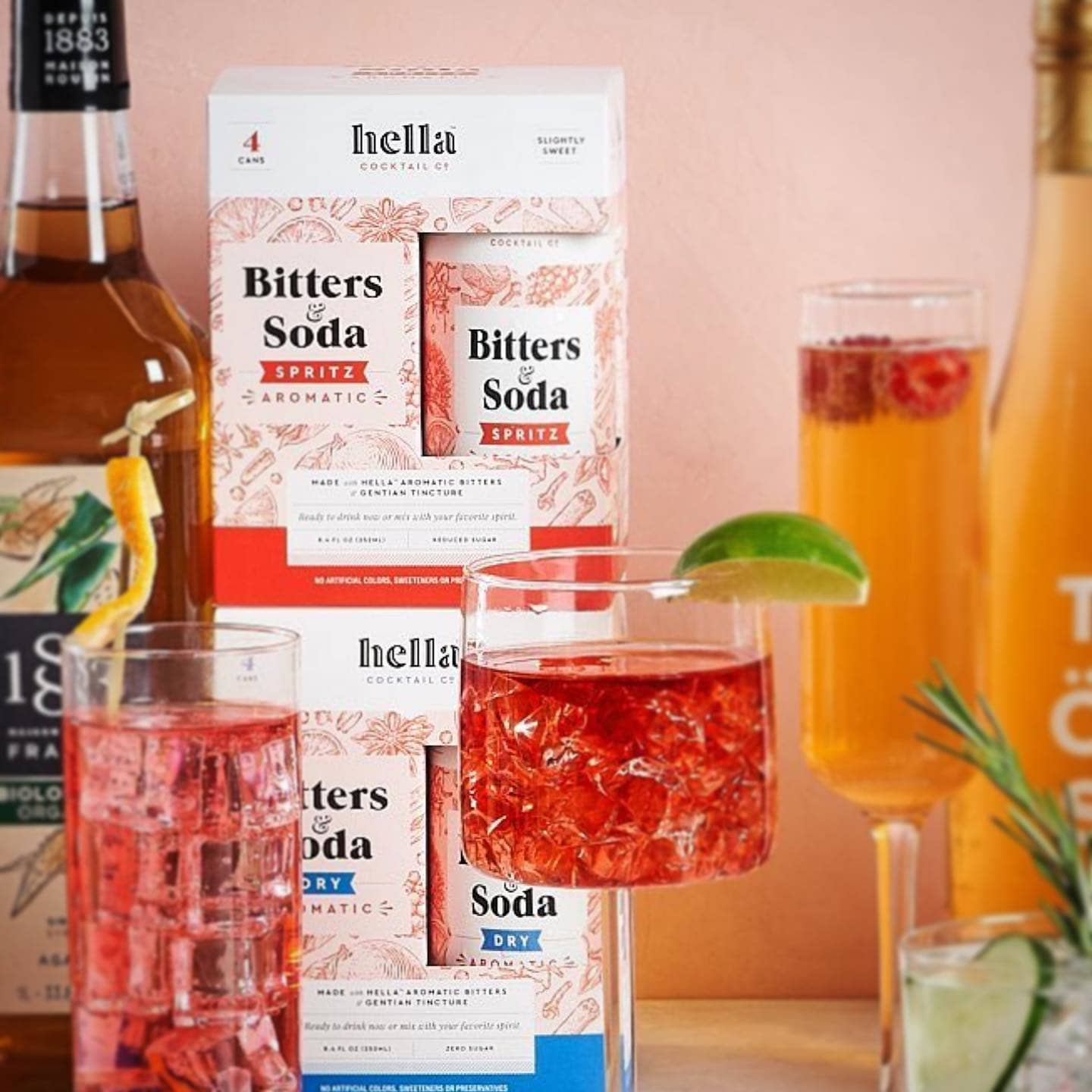Hella Cocktail Co. Branding