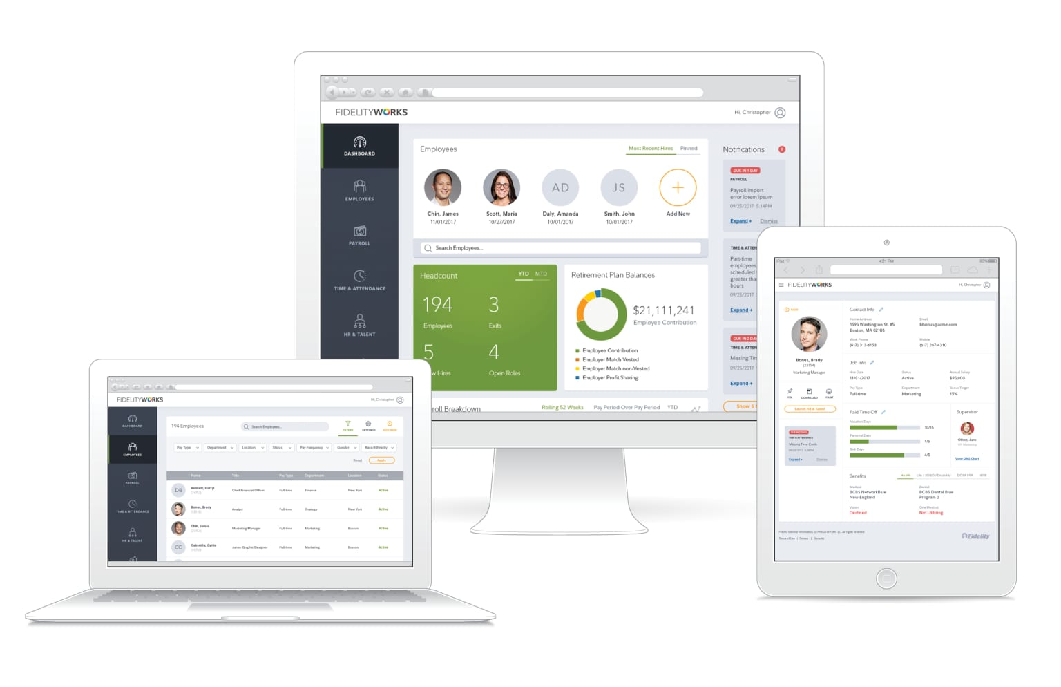 Fidelity Works - Unified Experience