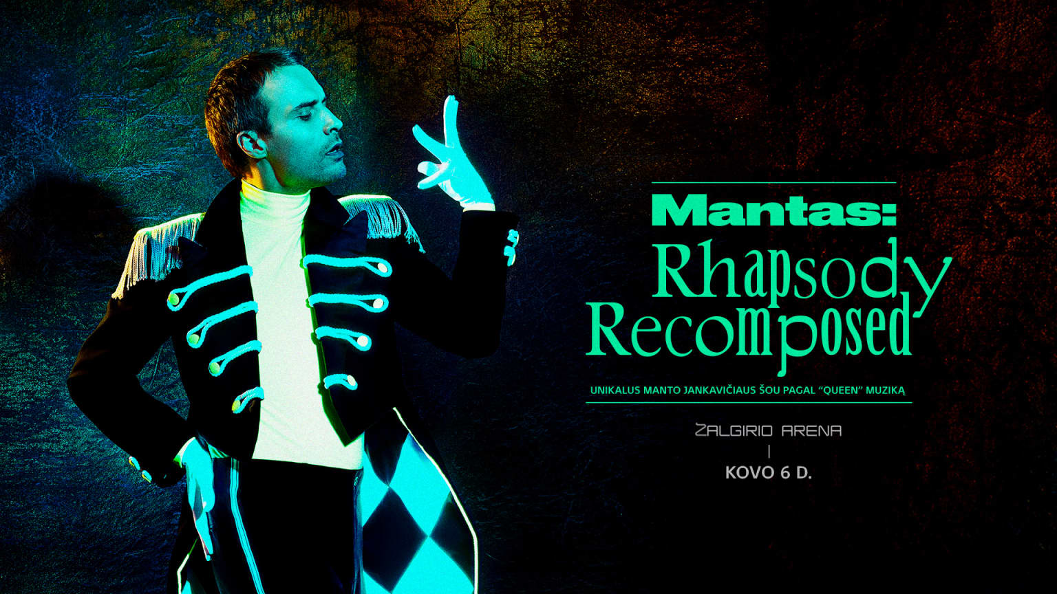 Mantas: Rhapsody Recomposed event artwork