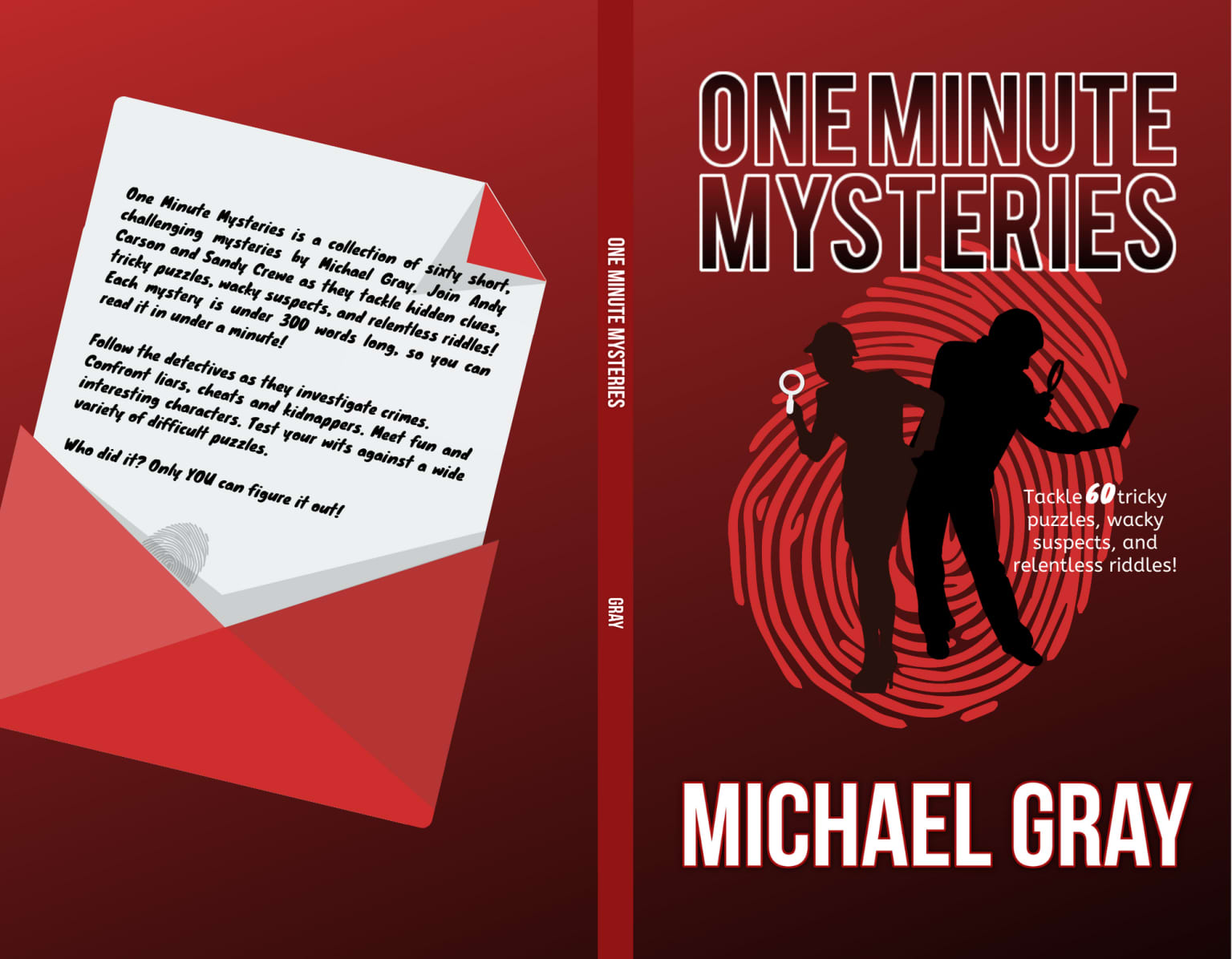 One minute mysteries by Michael Gray (Arglefumph Games)