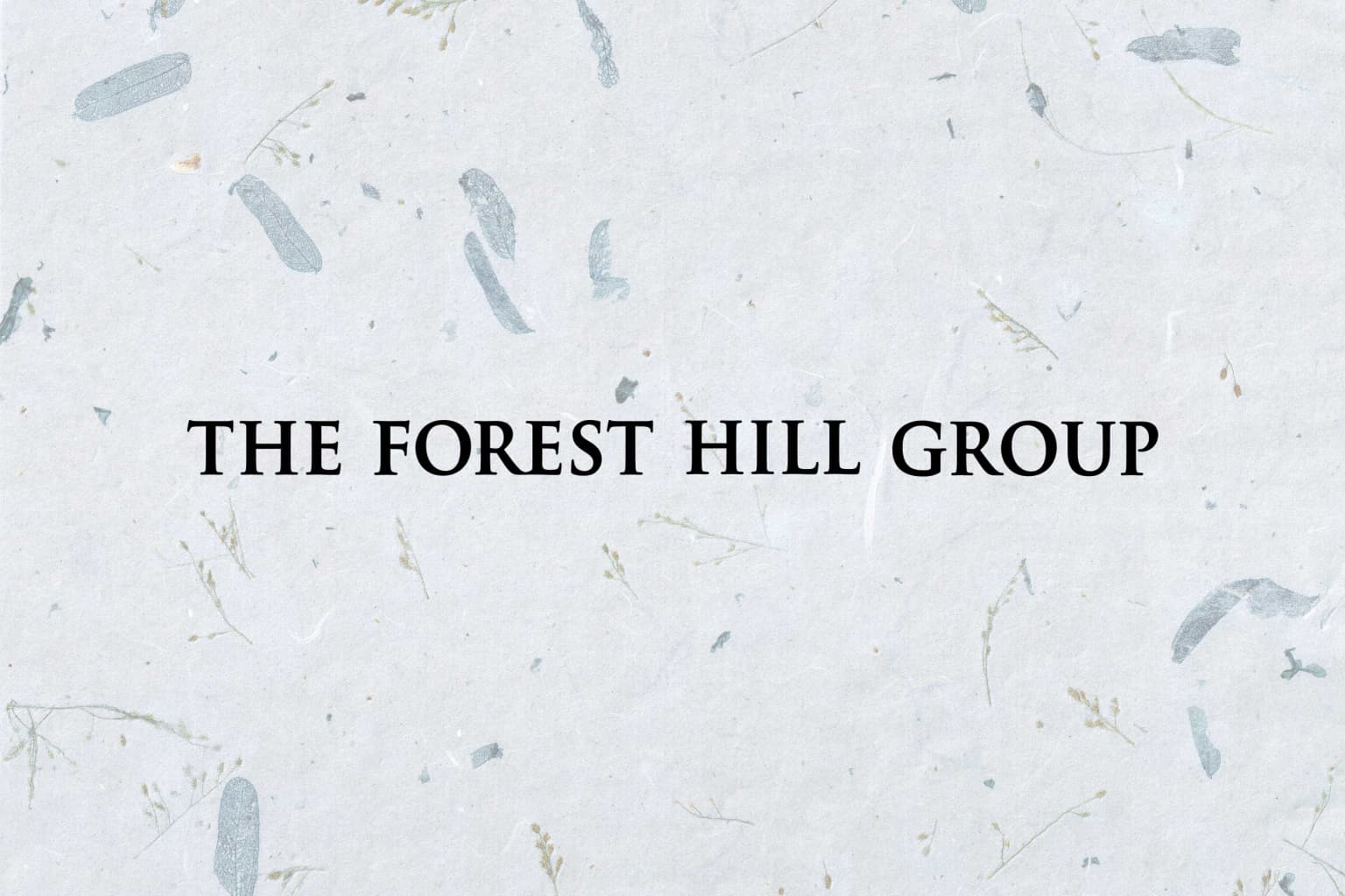 The Fores Hill Group Rebrand