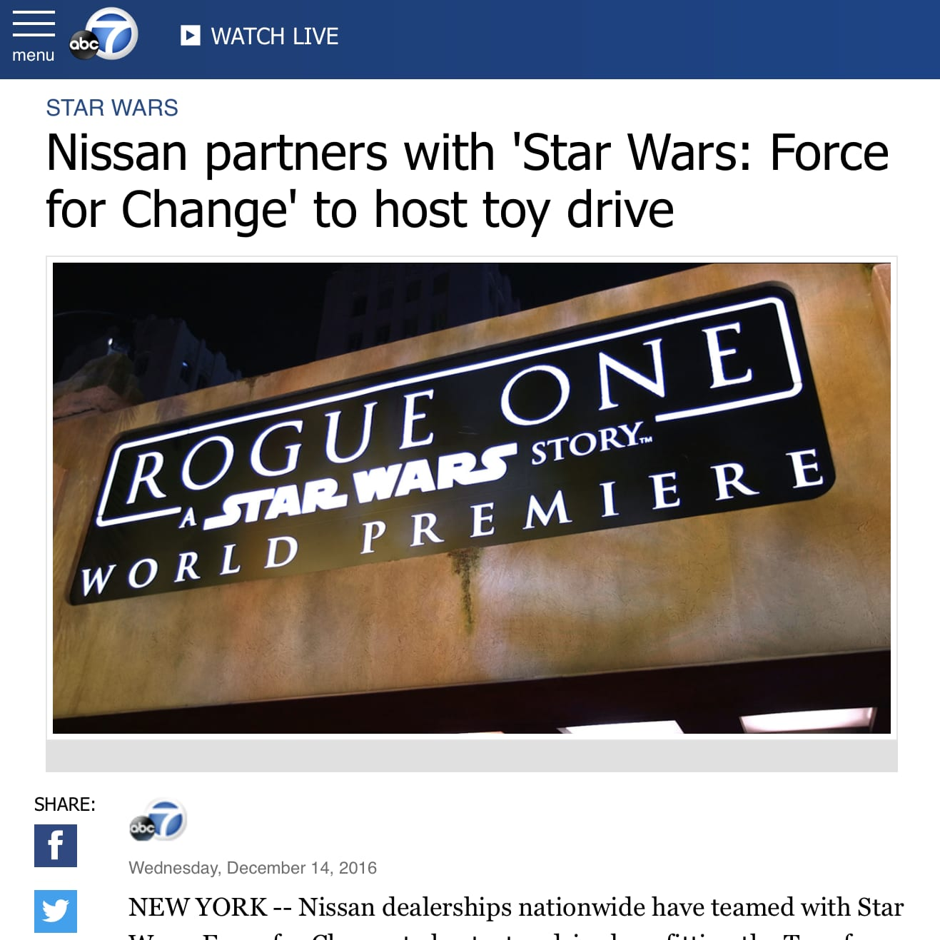 """360 Campaign: Nissan """"Rouge One"""""""