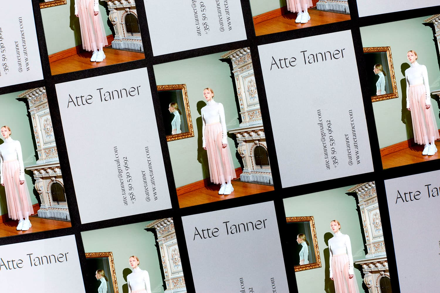 Visual Identity and Web Design for Atte Tanner Photography