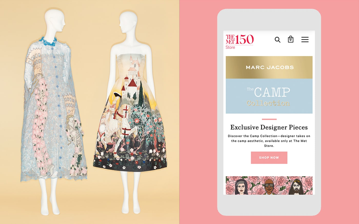 The Metropolitan Museum of Art- Camp: Notes on Fashion